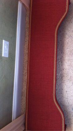 DIY cornice board with trim