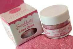 Fully Edible Glitter- Twinkle, Sparkle cake decoration- Cakes - Cupcakes-Rose Pink , http://www.amazon.co.uk/dp/B00B26Y4DU/ref=cm_sw_r_pi_dp_SAyPsb11XPC79