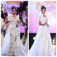 Modern Filipiniana Gown, Filipiniana Wedding Theme, Wedding Gowns, Grad Dresses, Dress Outfits, Filipino Wedding, Formal Wear Women, Top 5, Traditional Dresses