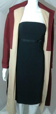 Vintage Etienne Aigner Trench Coat Size 14P Reversible Burgundy Cream Khaki | Clothing, Shoes & Accessories, Women's Clothing, Coats & Jackets | eBay!