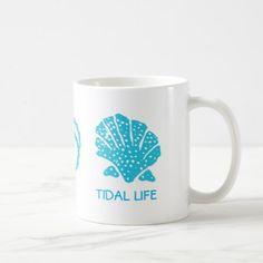 Seashells Tidal Life Coffee Mug