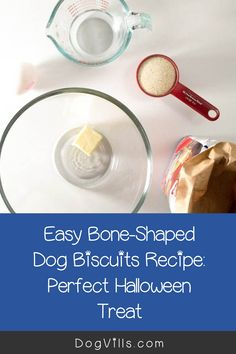 Looking for a fun homemade Halloween dog treat recipe similar to the milk bones that you buy in the store? Dog Biscuit Recipes, Dog Treat Recipes, Dog Food Recipes, Homemade Halloween, Dog Halloween, Halloween Treats, Best Dog Food, Milk Cans, Dog Biscuits