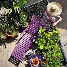 dco balcon des ides pour mettre de la couleur balcony pinterest transat balcons et profiter - Transat Balcon