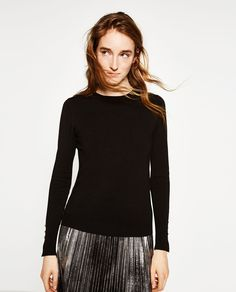 ZARA - WOMAN - BASIC SWEATER
