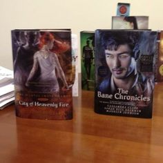 City of Heavenly Fire and The Bane Chronicles ... BY THE ANGEL!!!