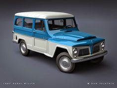 A Rural Willys é um utilitário que foi produzido pela Willys Overland nas décadas de 1950, 1960 e 1970 no Brasil. Na década de 1970, pass...