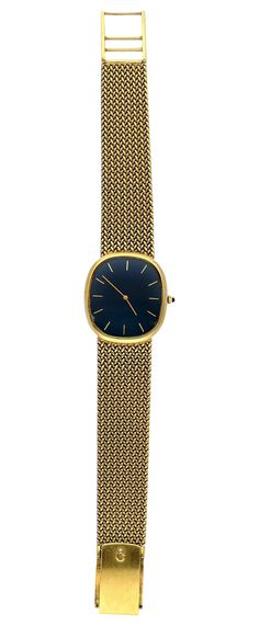 Nachhaltig schön. Edle Herrenarmbanduhr von Chopard, 18K / 750 Gelb-Weissgold.  Ein Los der kommenden Rapp Auktion für Armband- und Taschenuhren.