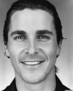 Christian Bale... i'm a sucker for great smiles