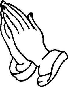 praying hands vector image digi stamps line drawings digi stamps rh pinterest com family praying clipart black and white boy praying clipart black and white