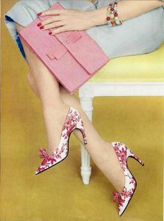 Shoes by Roger Vivier 1959