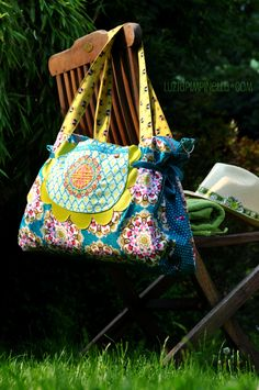 Gorgeous #florabella bag made by @Nic Hildebrandt {luzia pimpinella}