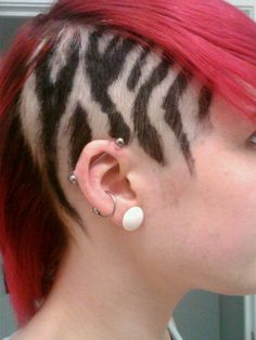 zebra would never do but looks really cool
