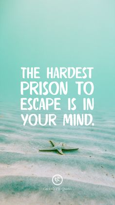 100 Inspirational And Motivational iPhone / Android HD Wallpapers Quotes - The hardest prison to escape is in your mind. You are in the right place about 100 Inspirational And - Hd Wallpaper Quotes, Inspirational Quotes Wallpapers, Motivational Quotes Wallpaper, Motivational Quotes For Students, Best Motivational Quotes, Positive Quotes, Graffiti Wallpaper, Quote Backgrounds, Motivacional Quotes