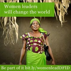Women leaders will change the world!