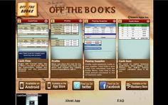 Website Design for Offthebooksapp