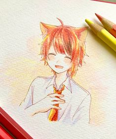 Anime Drawings Sketches, Anime Sketch, Anime Kunst, Anime Art, Noragami, Manga, Neko, Anime Characters, Book Art