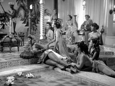 Sophia Loren (credited as Sofia Lazzaro) and other cast / production stills from Era lui… sì! sì! [English: It's Him!… Yes! Yes!] (1951) directed by Marino Girolami, Marcello Marchesi and Vittorio Metz.
