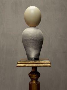 Bill Jackson, Egg Head, 2011 Easter Art, Mother Nature, Jackson, Sculptures, Eggs, Vase, Shapes, Artist, Artwork