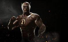 Flash, fighting, superheroes, 2017 games, Injustice 2