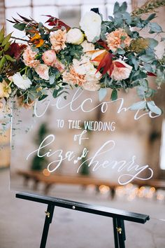 Intimate weddings - small wedding venues and locations - diy Small Intimate Wedding, Intimate Weddings, Small Weddings, Fall Wedding Flowers, Floral Wedding, Wedding Signage, Wedding Venues, Wedding Reception, Outdoor Wedding Inspiration