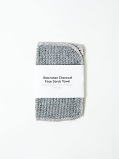 Infused with Binchotan activated charcoal, this Japanese body scrub towel affords a little extra exfoliation and will leave skin feeling super-soft and refreshed. The two grey hues indicate a coarse and gentle texture, and offers the towel a minimal appeal. After use, slather skin with your favourite body oil or moisturiser for best results.