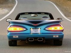 """The car is called  the """"789″ because the front is styled like a 57′ Chevy,  the sides like a 58′, and the rear like a 59′. About 100  of these are going to built by N2A motors (No Two Alike) and feature a Corvette C6 chassis and drivetrain with  the custom body."""