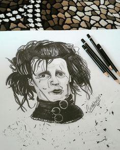 #Edwardscissorshands#drawing#sketch#art
