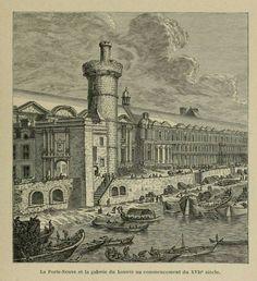 Firmin Didot, Louvre, Old Paris, French School, Paris France, Renaissance, Poster Size Prints, Photo Wall Art, 19th Century