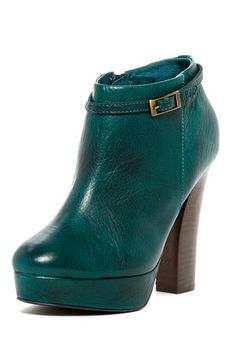 Liebeskind Leather Platform Bootie on HauteLook... aqua !!  I need these boots.. unfortunately they don't have my size :(