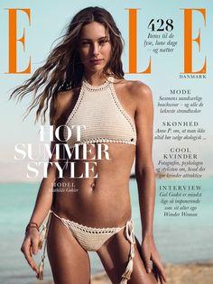 ELLE Denmark July 2017 Mathilde Goehler by Sune Czajkowski - Fashion Editorials