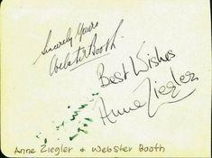 Vintage-LEFF-POUISHNOFF-WEBSTER-BOOTH-amp-ANNE-ZIEGLER-Autographs Amp, Ebay, Vintage, Vintage Comics