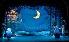 Cinderella (Panto). Children's Theatre Company. Scenic design by Eduardo Sicangco. 2009