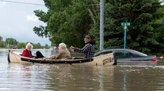 Albertans in awe at power of 'insane' flooding - #Canada - CBC News #abflood #yyc