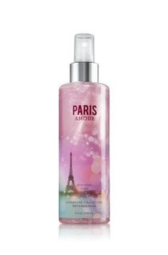 Bath & Body Works Signature Collection Shimmer Mist Paris Amour