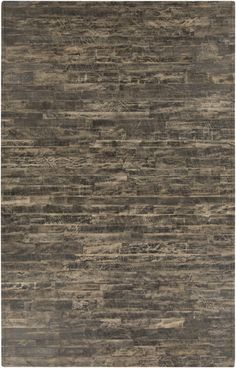 From the Appalachian Collection by Surya, this 100% natural leather rug is masculine and perfect for a rugged look. (APP-1004)