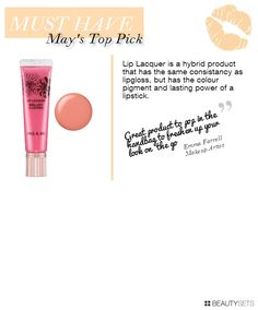 Beauty Matters Top Pick For May - http://www.beautysets.com/sets/35075 - Lips