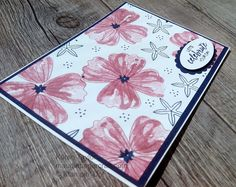 Stampin' Up! Bunch of Blossoms card
