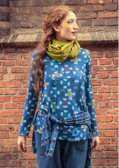 """Gudrun Sjödens Herbstkollektion 2015 - Dieses Shirt überzeugt vor allem durch die zauberhaften Picotkanten an den Abschlüssen. Bestelle dein """"Ditte"""" Shirt aus Viskose: http://www.gudrunsjoeden.de/mode/produkte/pullover-shirts/shirt-ditte-aus-viskose"""