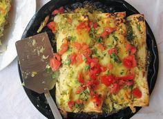Tomatillo Enchiladas