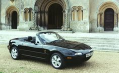 1989 - Mazda MX-5 - the open-top two seater was unveiled at the Chicago Motor Show in 1989.