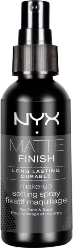 After I finish my elf setting spray, going to give this one a shot. Nyx Cosmetics Matte Finish Makeup Setting Spray Matte Finish