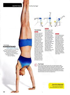 attacking that new year's resolution! Handstand here I come!