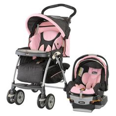 Yay - I finally found a stroller/infant carseat I like! Chicco Cortina KeyFit 30 Travel System - Bella