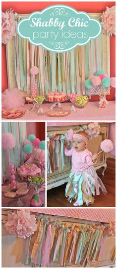 "Sugar Plum Fairy / Birthday ""First Birthday Photo Shoot & Party"", Sugar Plum Fairy / Birthday ""First Birthday Photo Shoot & Party"" A shabby chic sugarplum fairy first birthday party with a sweets table and pom pom wa. Baby Girl 1st Birthday, Fairy Birthday, First Birthday Photos, First Birthday Parties, First Birthdays, Birthday Ideas, Baby Shower, Shower Party, Shabby Chic Birthday"