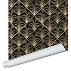 Deco Rays Wallpaper - Peel And Stick / 2' x 12'