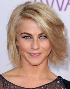 Short Voluminous Bob Hairstyle with Side Swept Bangs- Julianne Hough Hairstyles 2014 I might go with this cut when I finally decide to cut my hair. Short Hairstyles 2015, Haircuts For Fine Hair, Bob Haircuts, Top Hairstyles, Sassy Haircuts, Feathered Hairstyles, Popular Hairstyles, Wedding Hairstyles, Hair Styles 2014