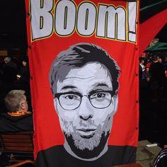 """Jurgen Klopp """"BOOM!"""" banner"""