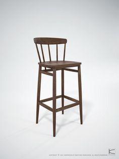 Twist Bar Stool - Dellis Furniture $849