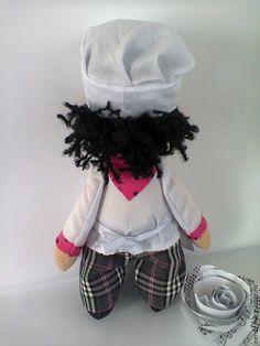 Коллекционные куклы ручной работы. Поваренок. E & V. Интернет-магазин Ярмарка Мастеров. Интерьерная кукла, текстильная кукла