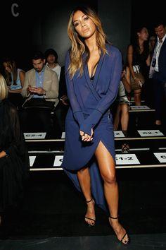 Nicole Scherzinger à la Fashion Week de New York